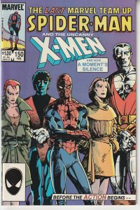 Marvel Team Up(vol. 1) # 150 Spiderman and The X-Men