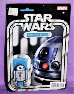 John Christopher STAR WARS #6 R2-D2 Action Figure Variant Cover (Marvel, 2015)!