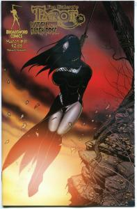 TAROT WITCH of the Black Rose #91, NM, Jim Balent, 2000, Holly Golightly, Femme