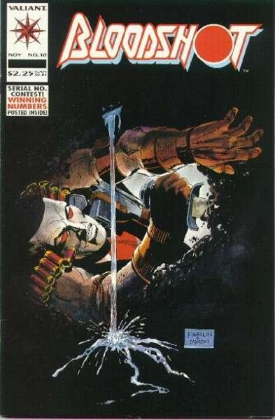 Bloodshot (1993 series) #10, NM (Stock photo)