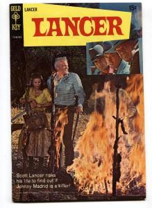 LANCER #1 1968-TV WESTERN ADVENTURE-STACY-DUGGAN-PHOTO VF-