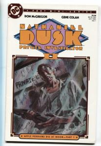Nathaniel Dusk Private Investigator II #1 First issue - DC comic book