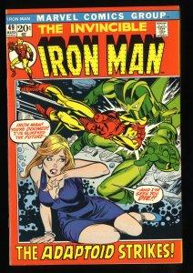 Iron Man #49 VF+ 8.5