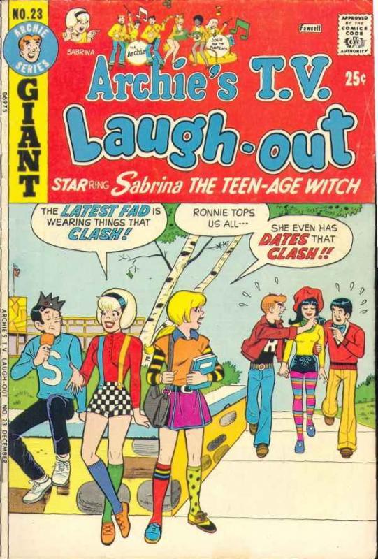 Archie's TV Laugh Out #23 (Dec-73) FN- Mid-Grade Archie