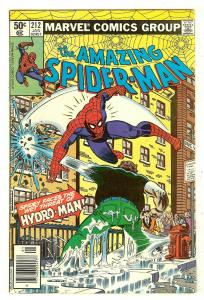Amazing Spiderman 212   Origin & 1st Hydro-Man