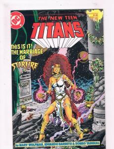 New Teen Titans #17 VF/NM 1st Print DC Comic Book Robin Cyborg DE2