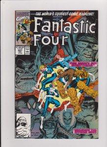 FANTASTIC FOUR #347 VF/NM 1990 MARVEL COMICS ARTHUR ADAMS ARTWORK