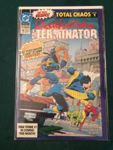 Deathstroke The Terminator #14 Total Chaos part 1