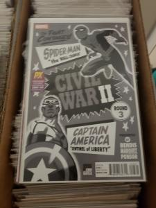 Civil War II #3 PX Previews Variant SDCC