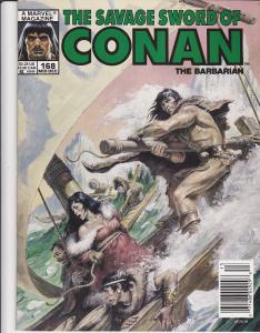 Savage Sword of Conan #168