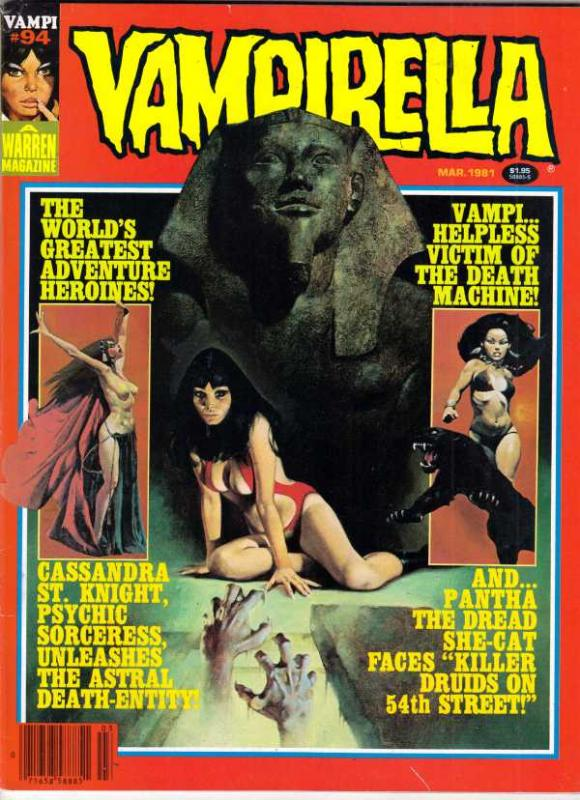 Vampirella Magazine #94 (Mar-81) VF+ High-Grade