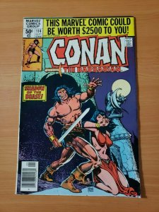 Conan the Barbarian #114 Newsstand Edition ~ NEAR MINT NM ~ 1980, Marvel Comics