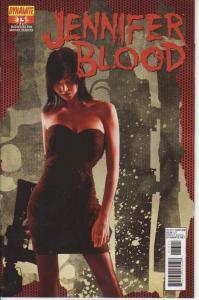 Jennifer Blood (Vol. 1) #13A VF/NM; Dynamite | save on shipping - details inside