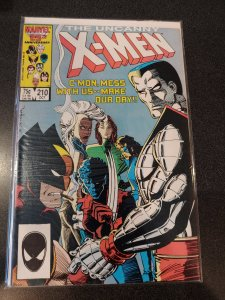 THE UNCANNY X-MEN #210 HIGH GRADE VF+