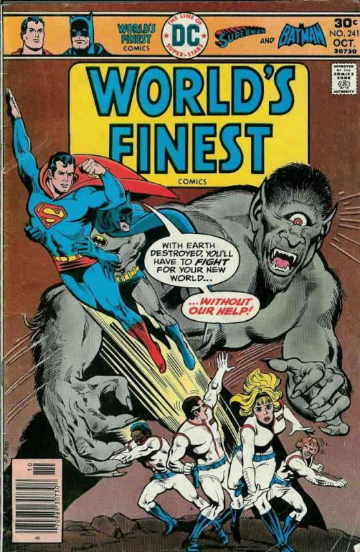World's Finest Comics #241 FN; DC | save on shipping - details inside
