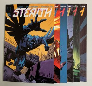Stealth #1-6 Set (Image 2020) 1 2 3 4 5 6 Mike Costa (8.5+)