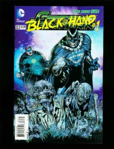 GREEN LANTERN #23.3 2013 BLACK HAND 3-D COVER NEW 52 HIGH GRADE NM