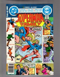 SUPERMAN FAMILY 203 VERY FINE September/October 1980