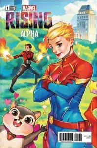 Marvel Rising: Alpha #1B VF; Marvel | save on shipping - details inside