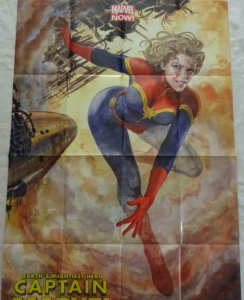CAPTAIN MARVEL Promo Poster, 24 x 36, 2013, MARVEL, Unused more in our store 303