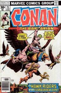 Conan the Barbarian (1970 series) #75, VF- (Stock photo)