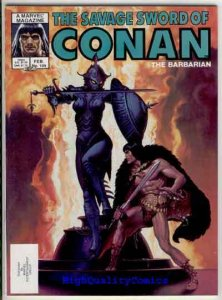 SAVAGE SWORD of CONAN #109, FN+, Ernie Chan, Hickman, more SSOC in store