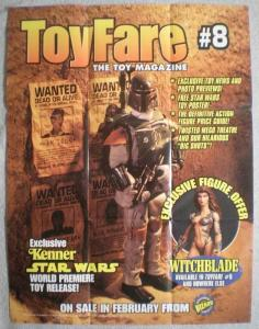 TOY FARE #8 Promo poster, Boba Fett, Star Wars, Unused, more in our store