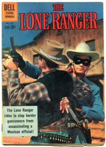 Lone Ranger #137 1961- Dell Western comic- Clayton Moore VG+