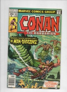 CONAN the BARBARIAN #83 VG/FN, Chaykin, Chan, Howard, 1970 1978, Mark Jewelers