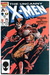 UNCANNY X-MEN #210 211 212 213 214 215 216 217 218 219 VF/NM to NM-, Wolverine