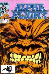 Alpha Flight (1983 series) #10, VF (Stock photo)