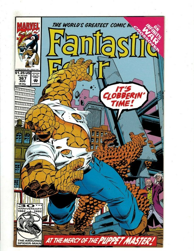 1992-9.4 FANTASTIC FOUR # 366 COMIC