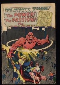 Journey Into Mystery #121 Fair 1.0 Marvel Comics Thor