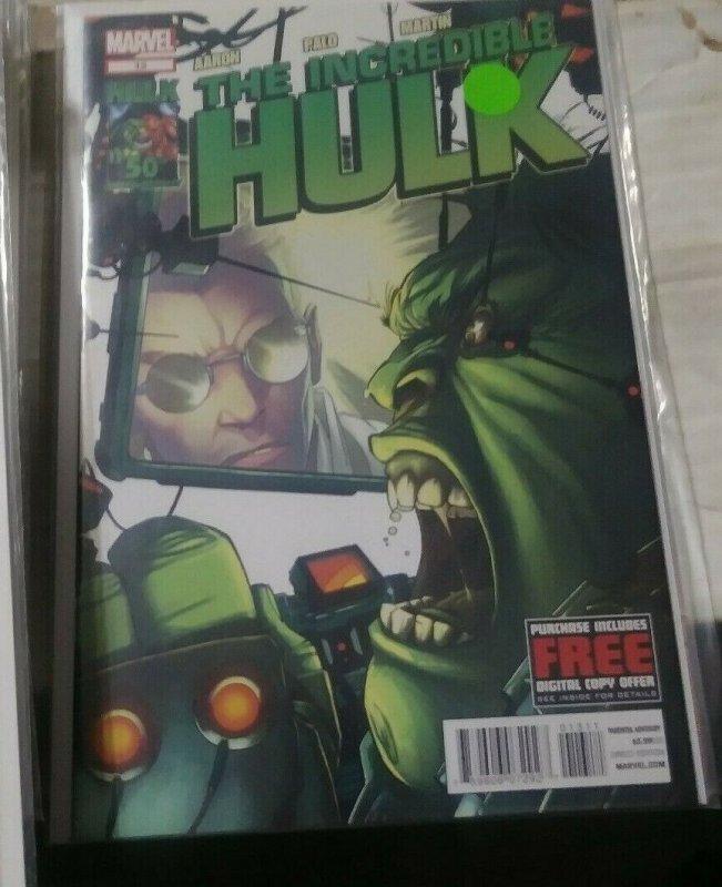 Incredible Hulk # 13 vol 4 2012 marvel  bruce banner  immortal doctor doom