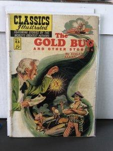Classics Illustrated #84 (1951) The Gold Bug 1st Print