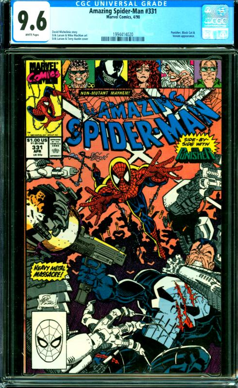 Amazing Spider-Man #331 CGC Graded 9.6