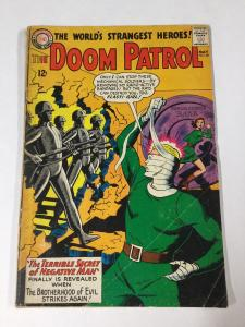 Doom Patrol 87 4.5 Vg+ Very Good Dc Comics Silver Age Tape On Spine