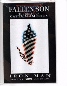 Marvel Comics Fallen Son: The Death of Captain America #5 John Cassaday Art