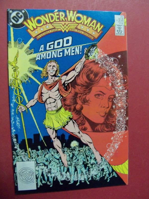 WONDER WOMAN #23 HIGH GRADE BOOK (9.0 to 9.4) OR BETTER 1ST Print 1987