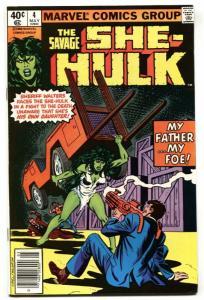 Savage She-Hulk #4  Comic Book 1980 Marvel NM-