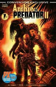 Archie vs Predator 2 #1 (of 5) Archie Comics Convention Ex SDCC 2019