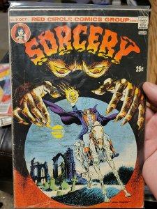 Red Circle Sorcery #9 Red Circle (1974) Bronze Age Comic Book- Good