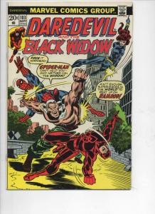 DAREDEVIL #103 FN/VF Spider-Man, Murdock, Black Widow, 1964 1973, Marvel