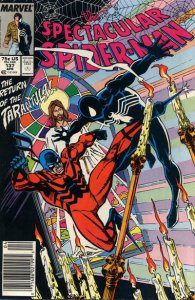 Spectacular Spider-Man, The #137 (Newsstand) FN; Marvel | save on shipping - det