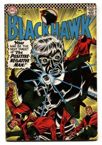 BLACKHAWK #227 1966-DC-POSITIVE-NEGATIVE MAN-comic book