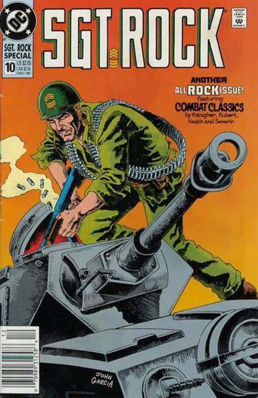Sgt. Rock Special #10 FN; DC | save on shipping - details inside