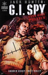 Jack Hunter: G.I. Spy Ashcan #1 FN; Atomeka | save on shipping - details inside