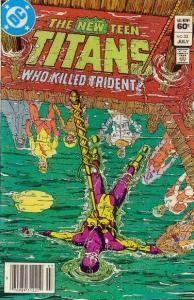 New Teen Titans (1980 series) #33, VF+ (Stock photo)
