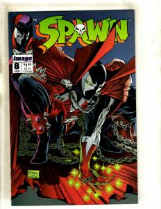 5 Comics Spawn # 8 11 12 + Flash Gordon 35 + Captain Canuck Summer Special 1 RM1