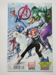 Avengers (Marvel Now 2014) #24 J. Scott Campbell Variant Cover
